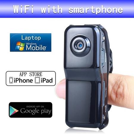 Wifi DVR Camera for IOS and Android Smartphone (WIP-07).