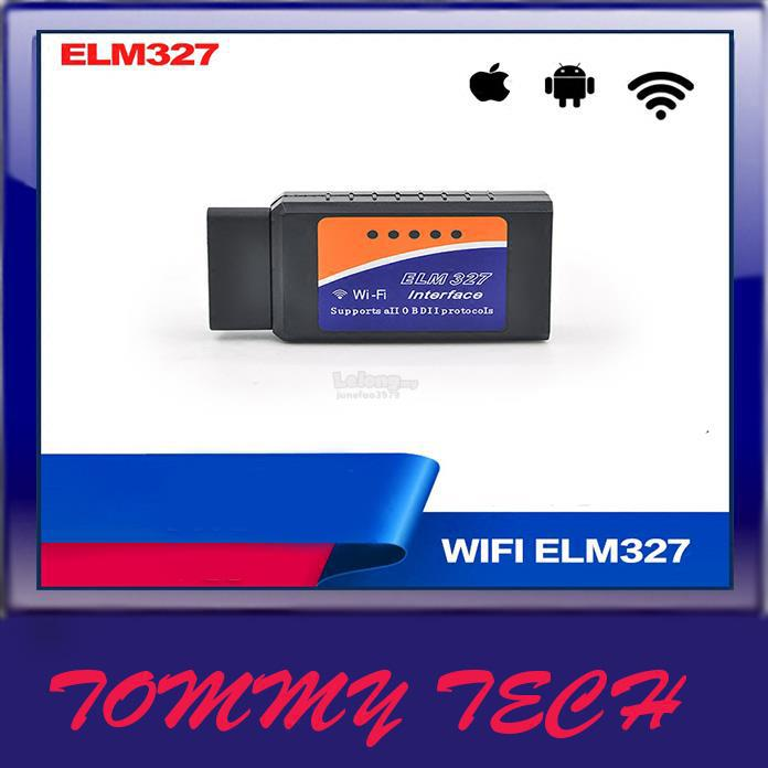 WIFI ELM327 OBD2 FOR Apple iPhone Ipad ANDRIOD PC CAR Diagnostic