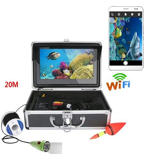 WIFI Fish Finder With 10 Inch Monitor And HD Camera (WP-FF15A).