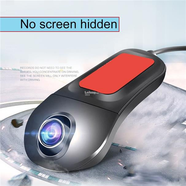 Wifi HD Night Vision Front&Rear Dual Lens Driving Recorder Without Di