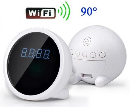 WiFi P2P Clock Camera For iphone Android Phones (WCH-25).