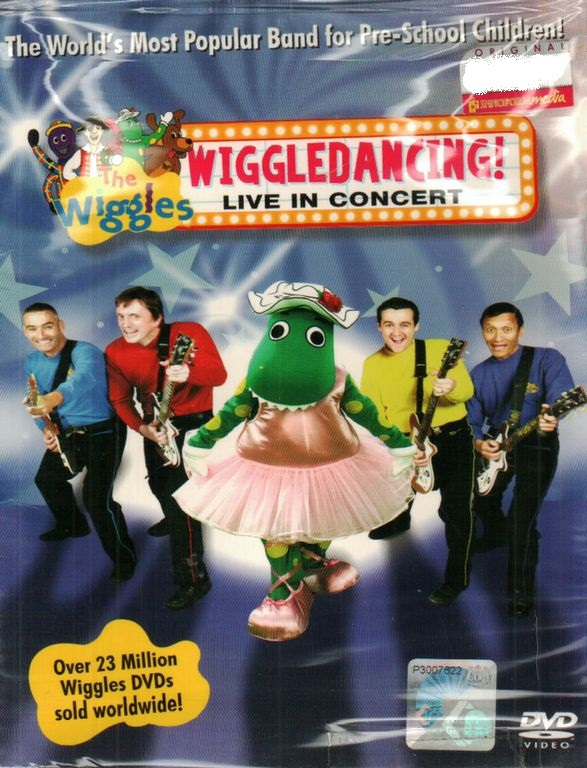 The Wiggles Wiggle Dancing Live In Concert DVD
