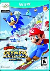 Wii U Mario & Sonic at the Sochi 2014 Olympic Winter Games