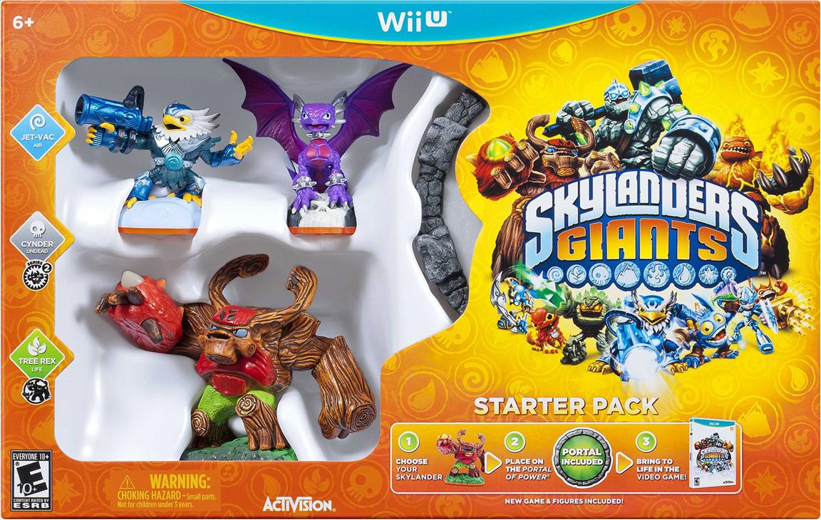 The Wii U Skylanders Giants Starter Pack