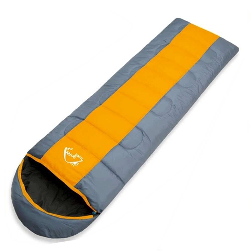 Wind Tour Thermal Adult Sleeping Bag Autumn Winter Envelope Hooded Out