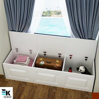 Window Storage Cabinet - Can Sit (1 month pre-order)