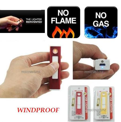 Windproof USB  Rechargeable Lighter KIT KAT Design, Smallest in Market