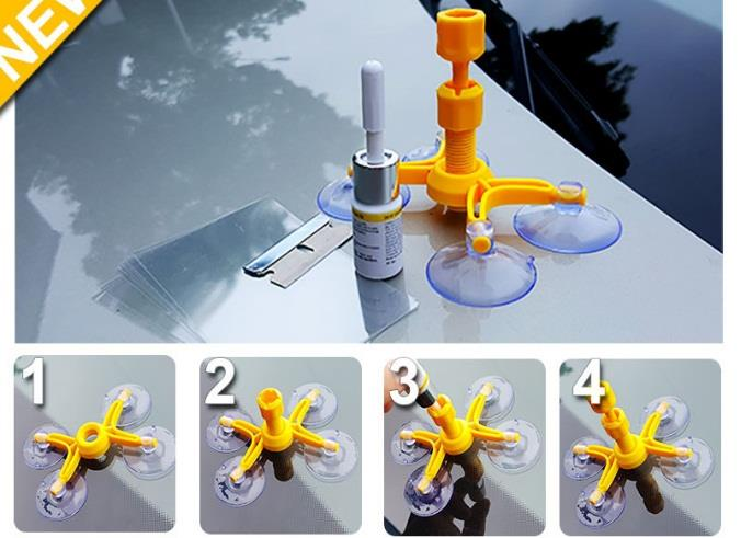 Windscreen Repair Kit DIY for Car easy to use
