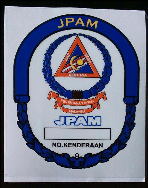 Windscreen Sticker JPAM