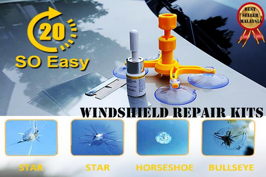 Windshield Repair Kit >> Do It Yourself Windshield Repair Kit So Easy