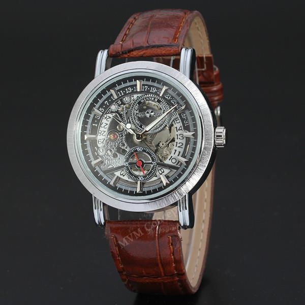 f246d5e5bd7 WINNER Skeleton Relogio Masculino Designer Watch AUTO Mechanical Watch. ‹ ›
