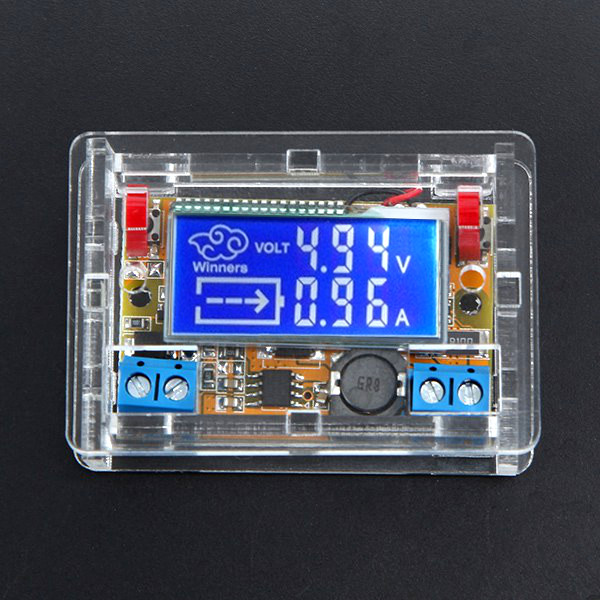 Winners DC-DC Step Down Power Supply Adjustable Module With LCD Displa..