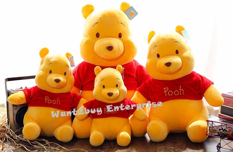 Winnie the Pooh Bear Soft Plush Baby Kids Cute Pillow Toys Doll Birthd. ‹ › a614e3e9bb61