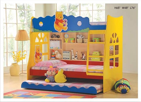 Campingbedje Winnie De Pooh.Winnie De Poeh Bed Dizzymansband