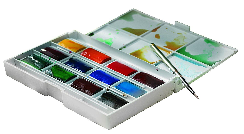 Winsor Newton Cotman Watercolour End 9 30 2020 415 Pm Whole Pan Painting Box 12 Colour