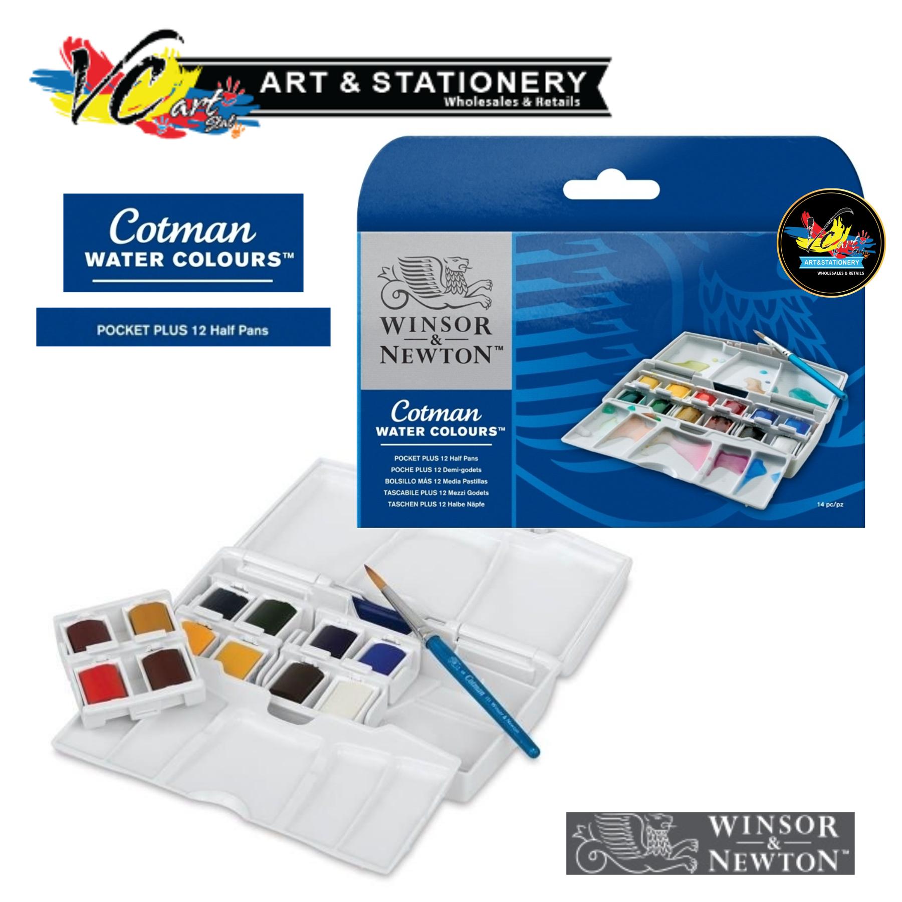 Winsor Newton Cotman Watercolour End 9 21 2020 236 Pm Pocket Plus Half Pan 12 Colours