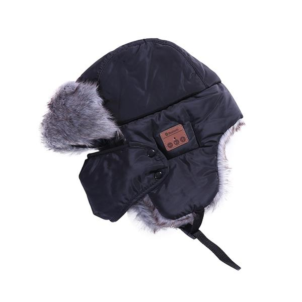 New Winter Hats Ear Flaps Fur Caps Masks Scarf Snow Cap Wireless BT. ‹ › a7e48f52c14