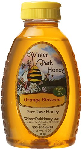 Winter Park Honey - Raw Orange Blossom Honey - (16oz)