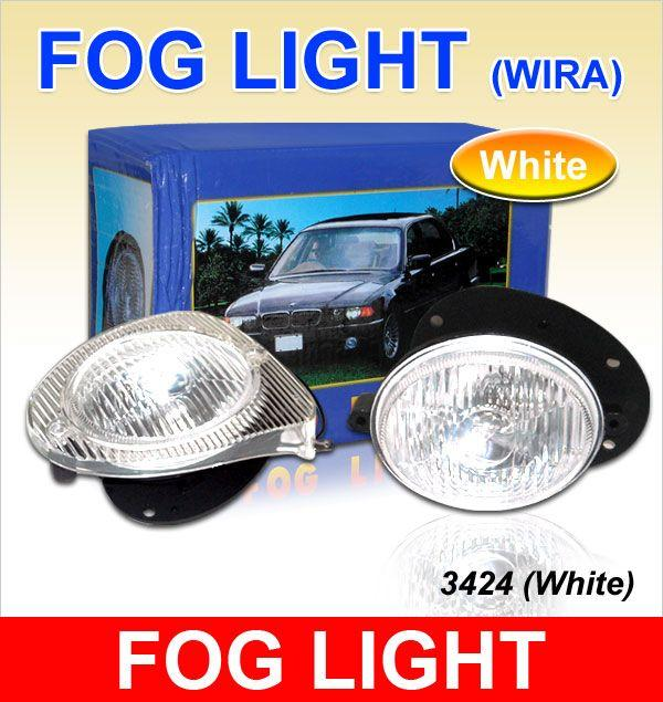 *NEW* WIRA 3424 Crystal White Eye Fog Lamp/ Spot Light - Sold Per Pair