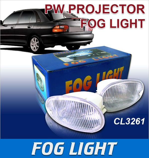 WIRA Projector White Fog Light Per Pair [CL3261 PW]