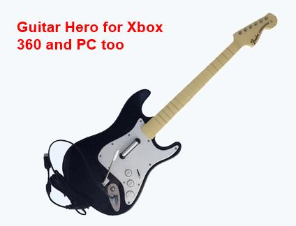 Wired Guitar for xbox30 and PC - Rock Band & Guitar Hero