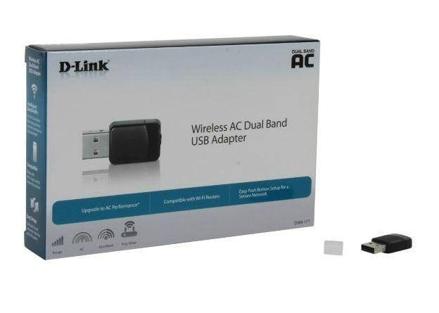 Wireless AC Dual-Band Nano USB Adapter DWA-171