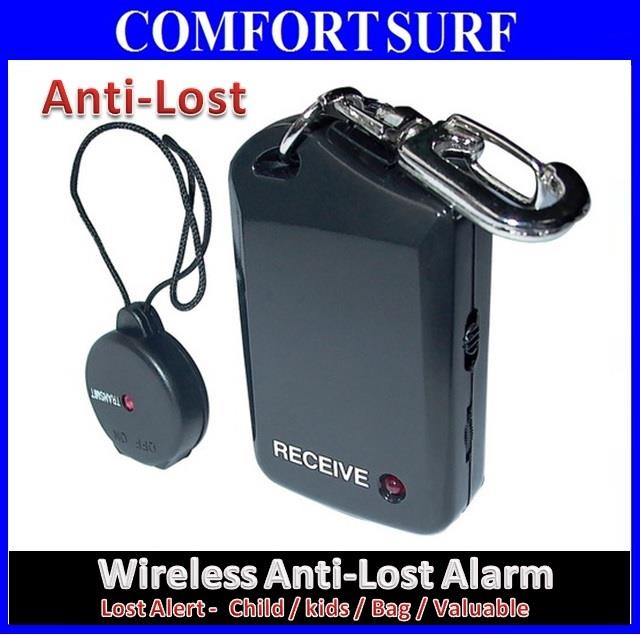Wireless Anti-Lost Adjustable Distance Alarm - Children Bag Key Finder