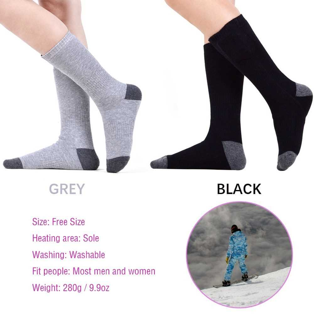 Wireless Battery Heated Socks Electric Rechargeable Heat Socks Kit