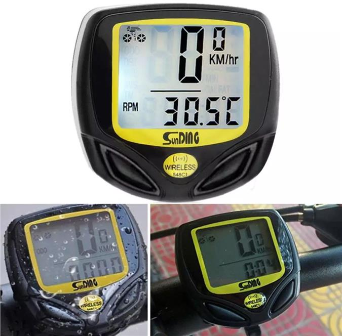 Wireless Bicycle Cycling Computer Speedometer Waterproof Cycling Meter