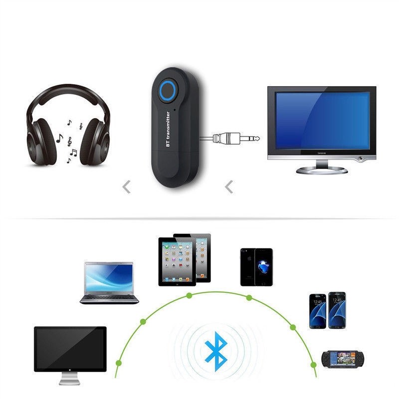 WIRELESS BLUETOOTH V4.0 Transmitter A2dp Audio Rca To 3.5mm Aux +USB A
