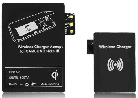 Wireless Charger Receiver Module Samsung Note4 Note3 Note2 S5 S4 S3