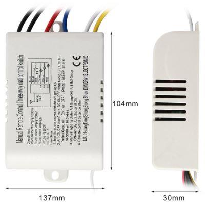 Wireless Digital RF Remote Control Switch for house and rooms