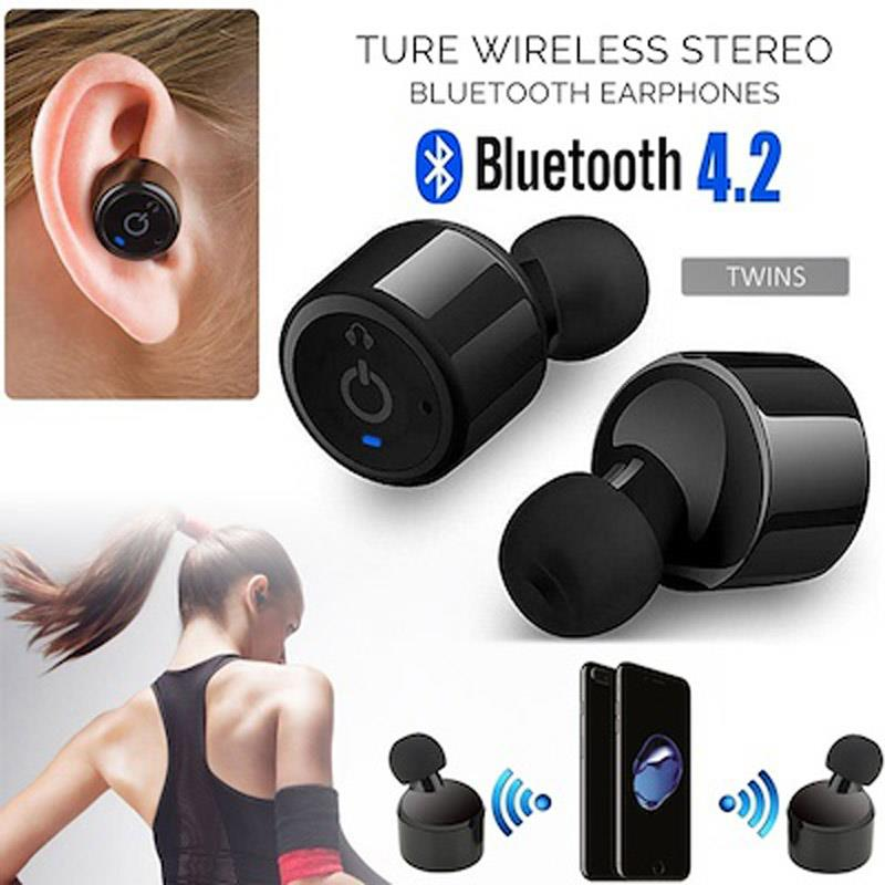 Wireless Earphones Earbuds X2T Bluetooth Headset Magnetic Charging
