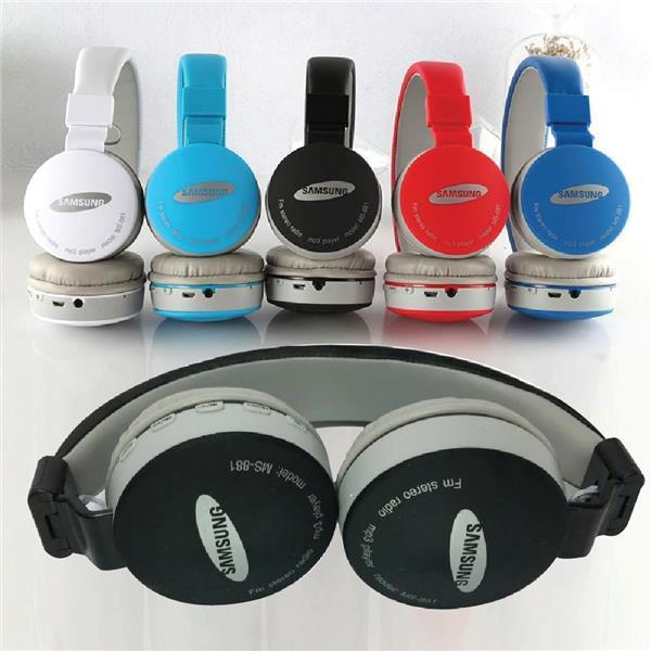 Wireless Headphone Stereo MS-881E High Perfomance FM Radio MP3