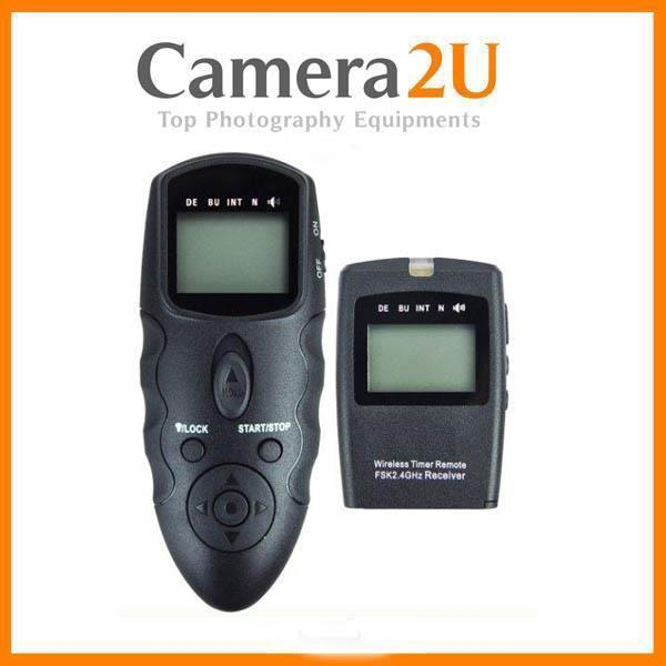 Wireless Intervalometer Timer Remote for Canon EOS 80D 70D 60D 760D