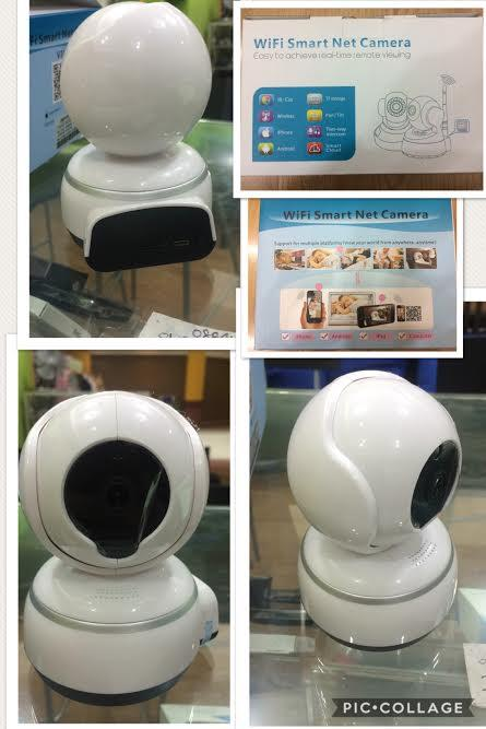 WIRELESS IP CAMERA SELF CONTROL ROTATION SURVEILLANCE CCTV