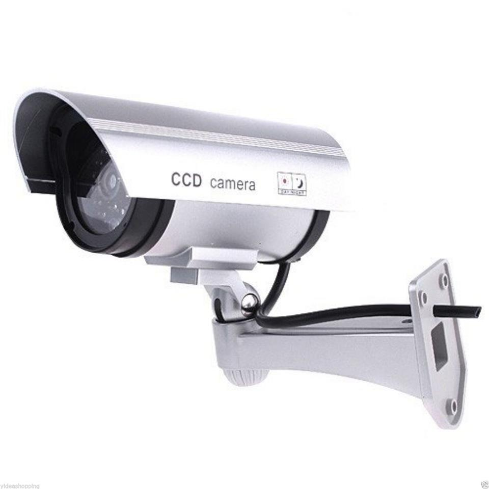 Wireless IR LED Home Security CCTV Dummy Fake Camera