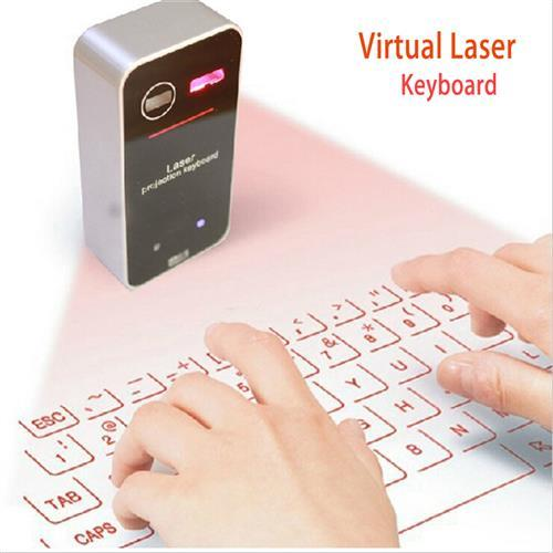Wireless Laser Keyboard For PC And Smartphones (WP-WLK01).