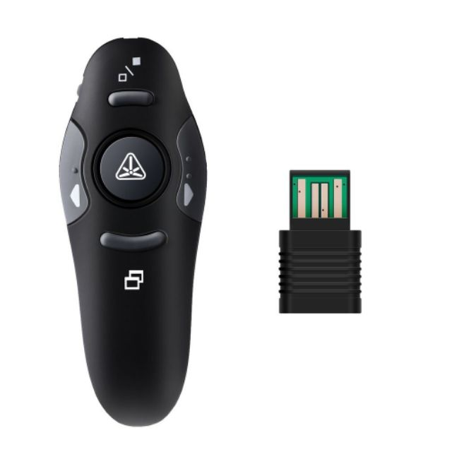 Wireless Laser Presenter Clicker RF USB PowerPoint PPT Remote Control Pointer