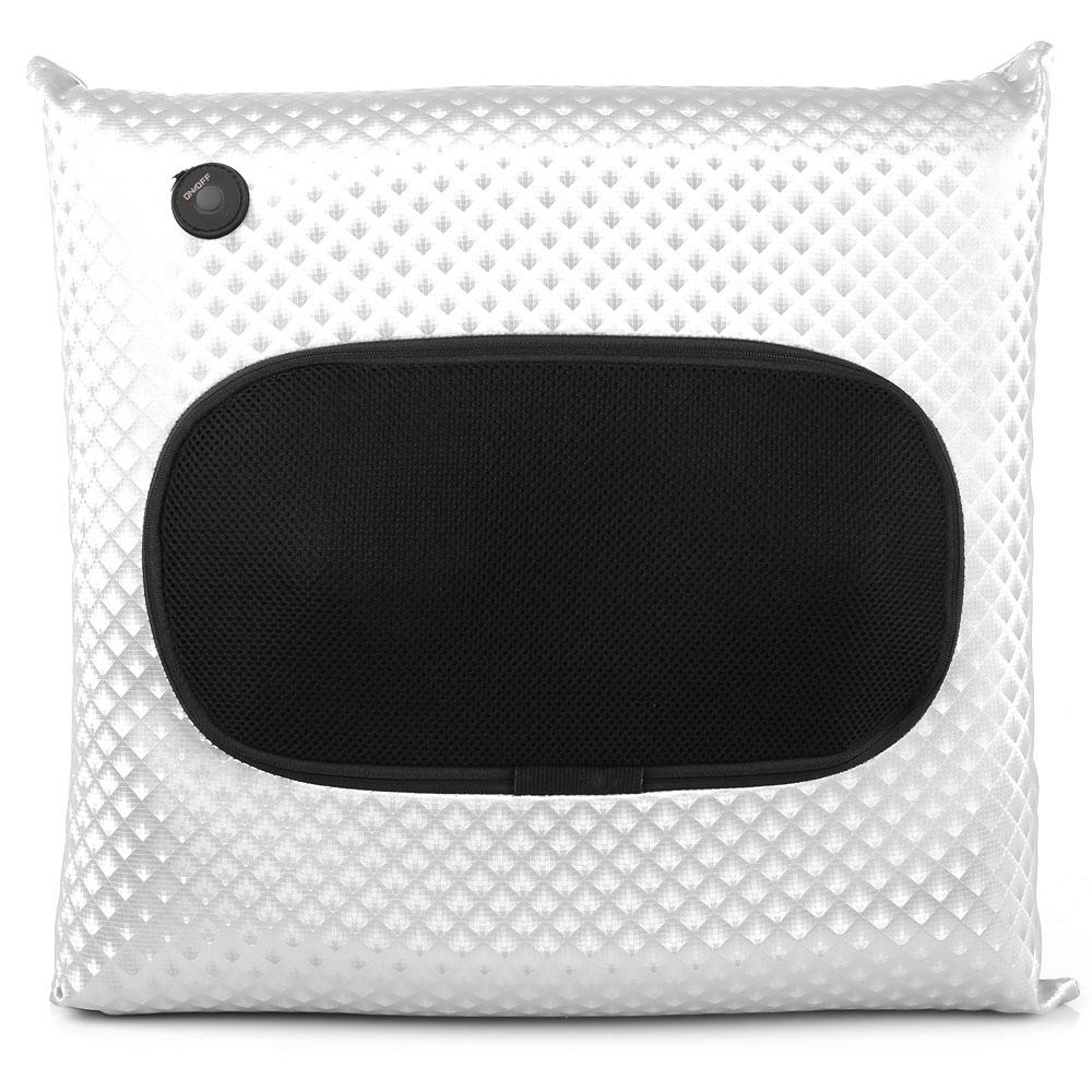 Wireless massage pillow back cushion