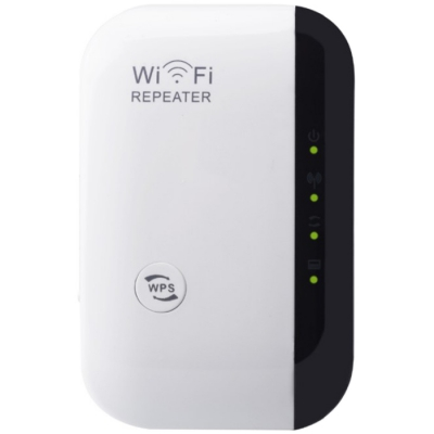 Wireless Wi-Fi Repeater 300Mbps Network Signal Extender Internet Antenna Boost