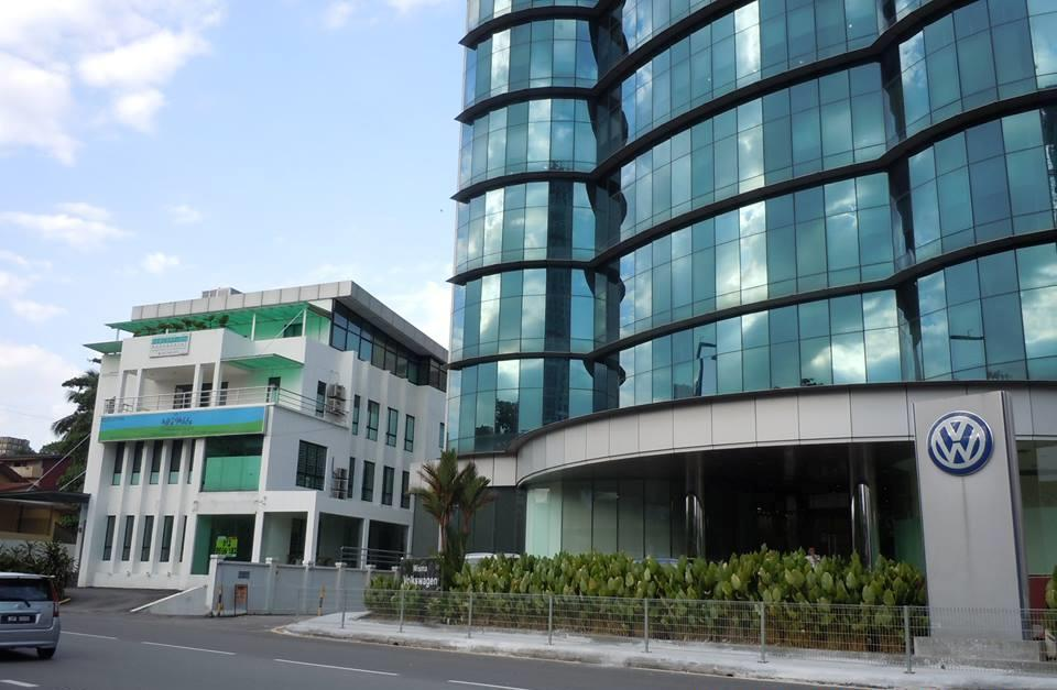 Wisma Volkswagen Office Space for rent, Partly Furnished, Bangsar, KL