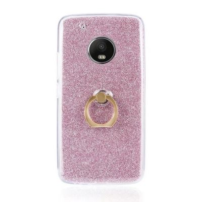 Wkae Soft Flexible TPU Back Cover Case Shockproof Protective Shell with Bling