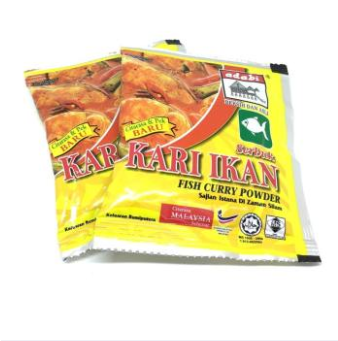 WM Adabi Fish Curry Powder / Serbuk Kari Ikan 24g