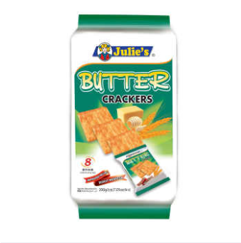 WM Julies Butter Crackers 200g