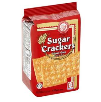 WM PING PONG SUGAR CRACKERS 125G CS
