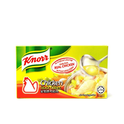 WM2 Knorr Seasoning Chicken 6 Cubes 60g ( X2 ITEM )