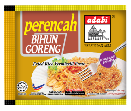 WM3 Adabi Fried Rice Vermicelli Paste (3 x 30g)
