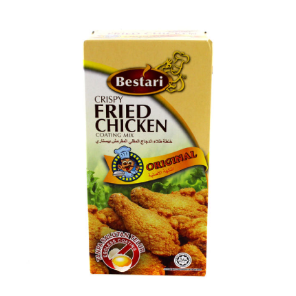 WM3 Bestari Original Crispy Fried Chicken Coating Mix (3X150g)