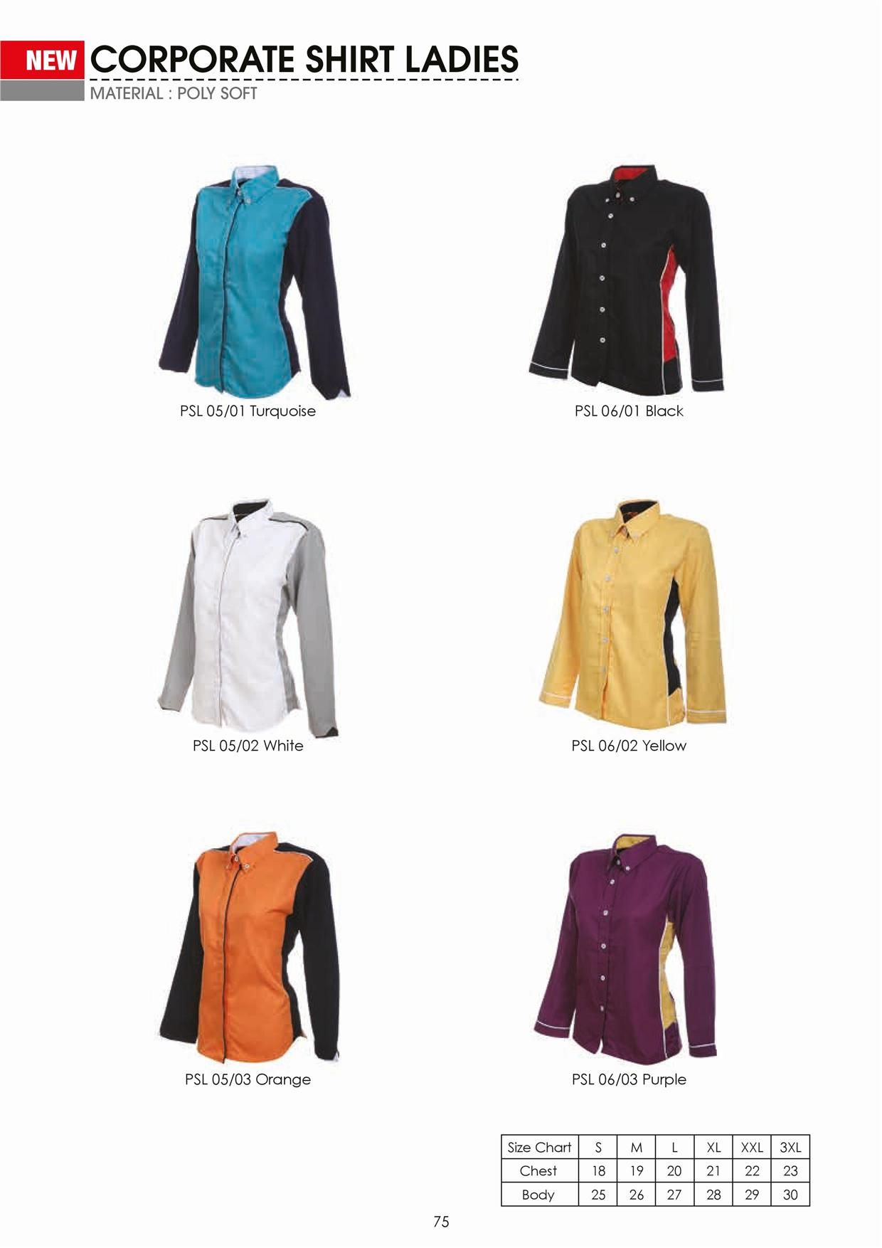 Woman Corporate Shirt Uniform Wanita (end 2/25/2017 3:15 PM)